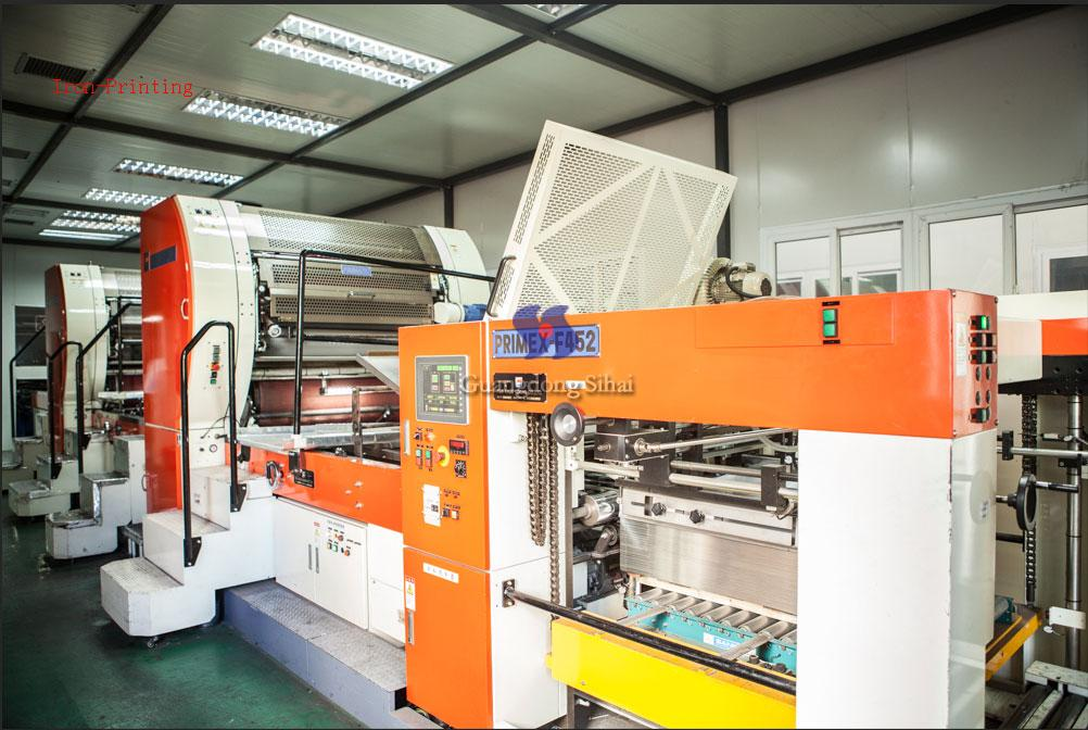 FUJI printing production line